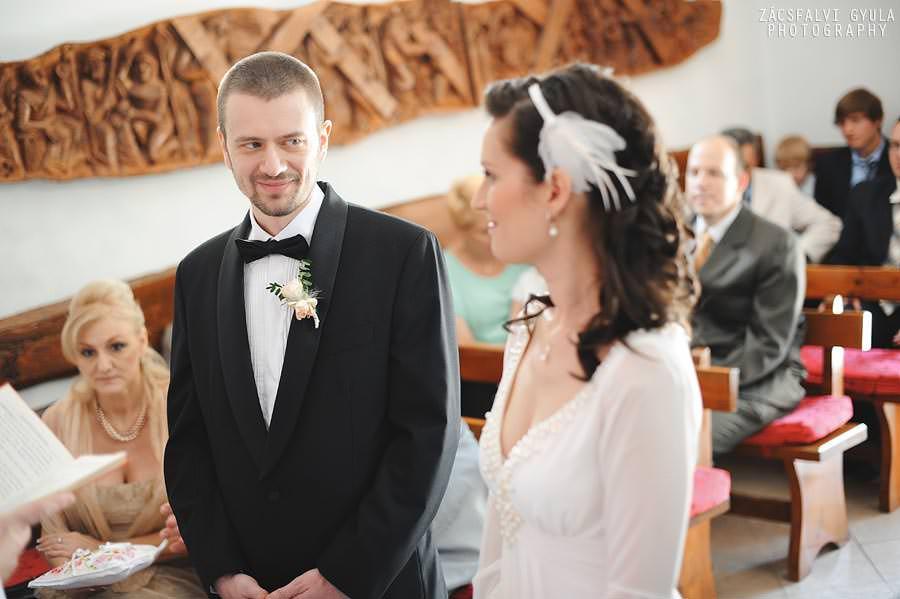Visegrádi esküvő szertartás kápolnában