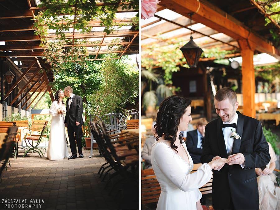 Visegrádi esküvő ceremónia Nagyvillám Étterem