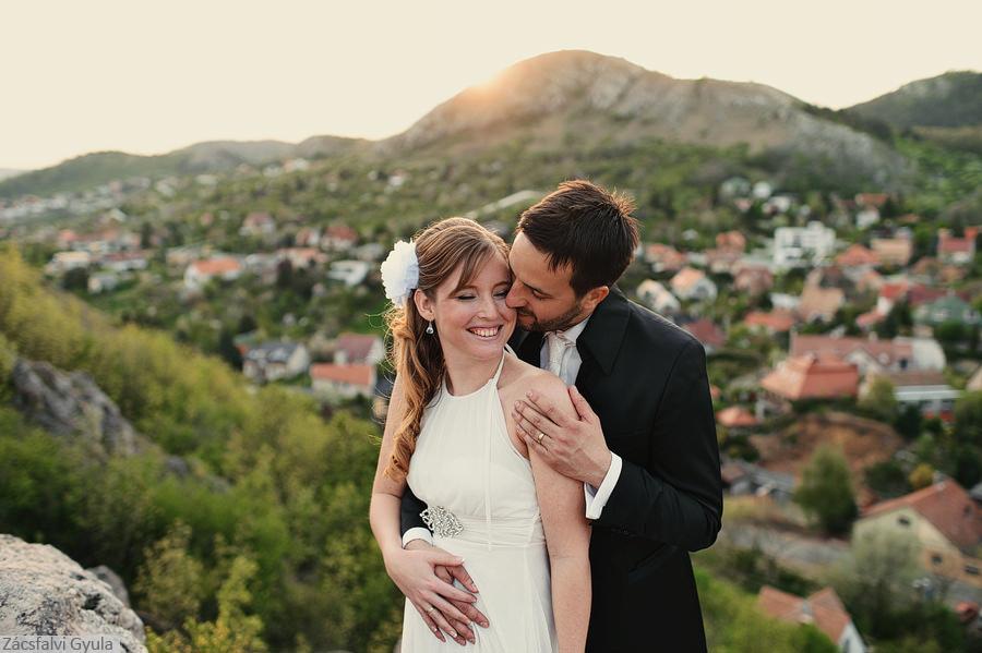 Budapest wedding portrait - Zácsfalvi Gyula