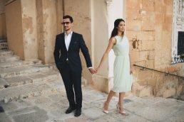 Engagement portrait in Valletta - Zácsfalvi Gyula