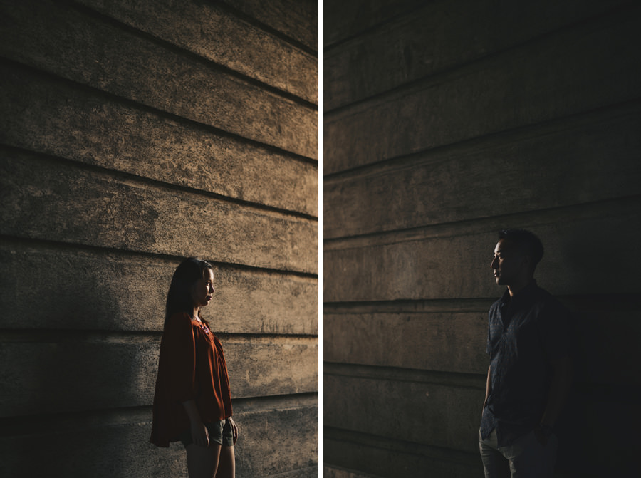 Budapest Engagement photos in Buda Castle