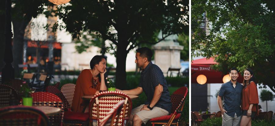 engagement photos Budapest