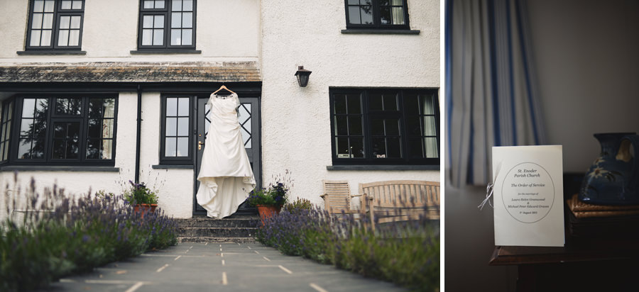 Bridal dress gown, Cornwall St Austell