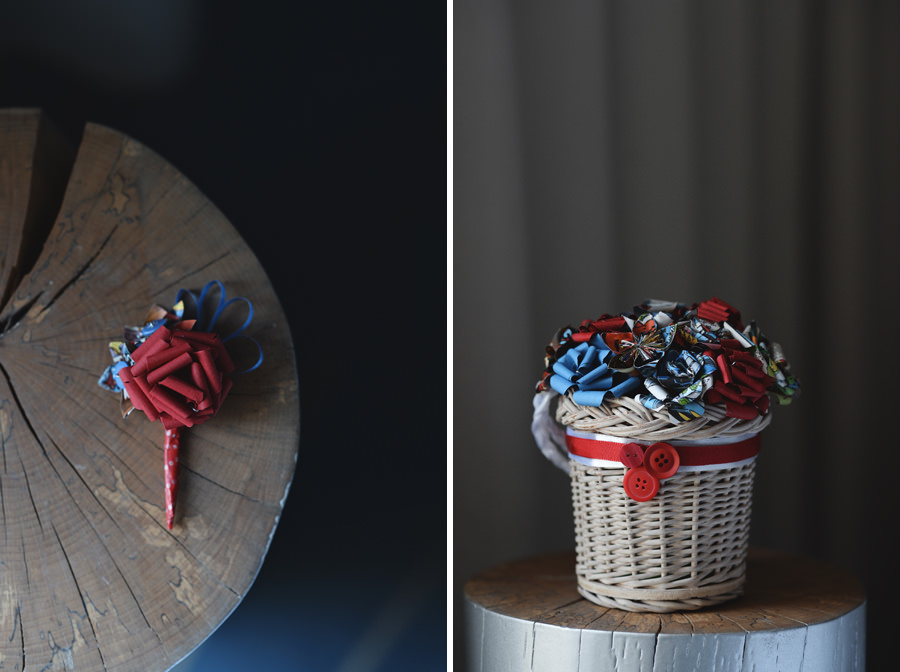 Marvel themed wedding bouquet - Zácsfalvi Gyula