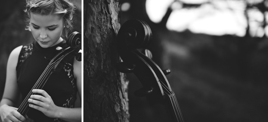 cello and portrait musician photo - Zácsfalvi Gyula
