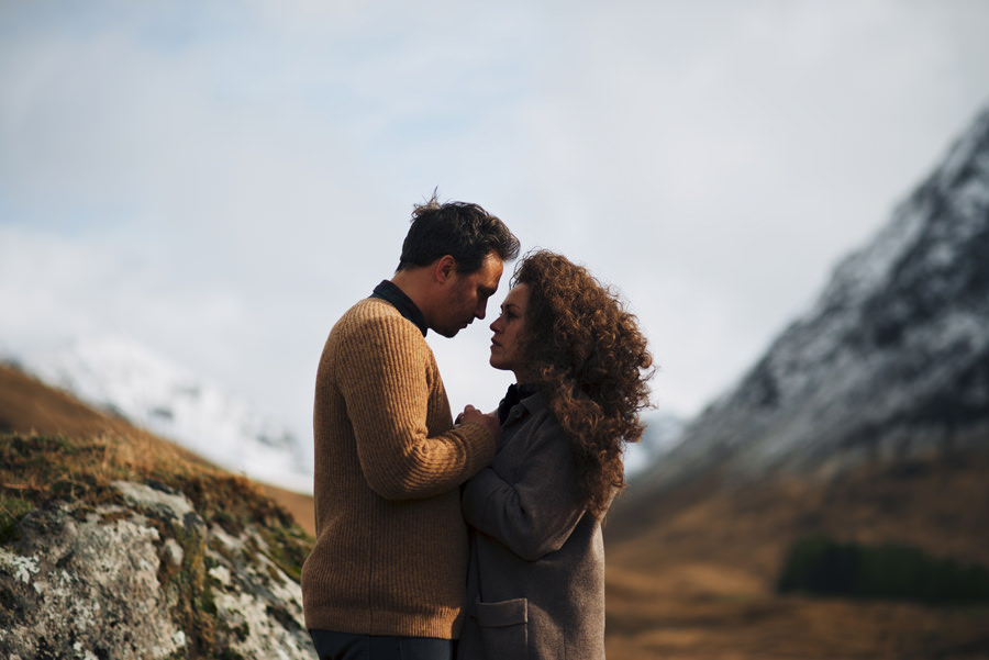 Glencoe Scotland Highlands engagement