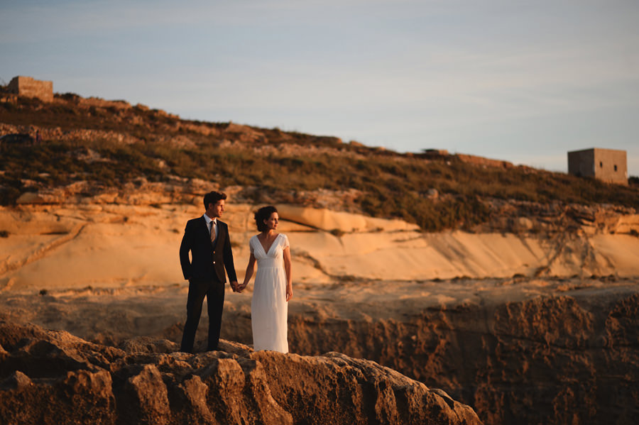wedding portrait in Gozo