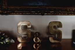 Wedding photographer London - standalone letter S for wedding