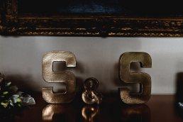 Wedding photographer London - standalone letter S for wedding