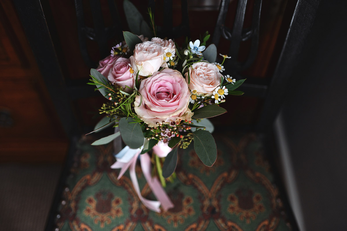 Wedding photographer London - Pastel colour wedding bouquet