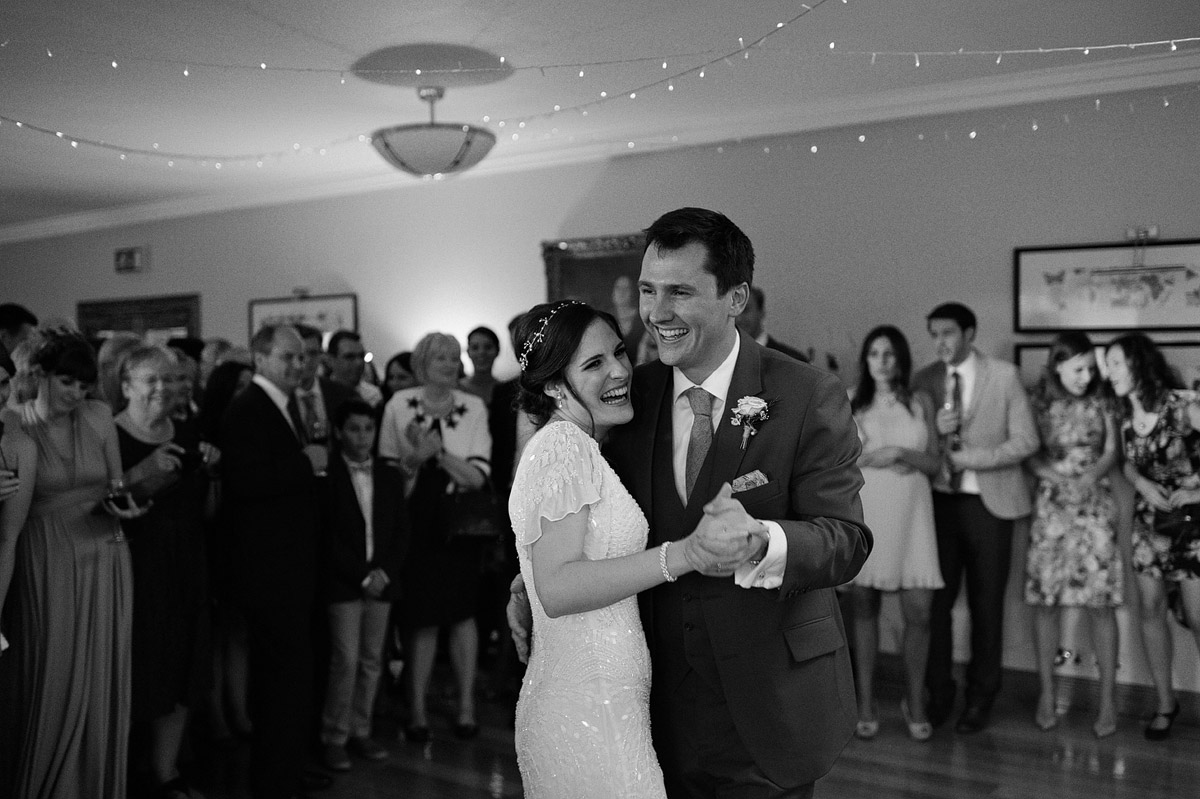 Wedding photographer London - wimbledon golf club wedding first dance
