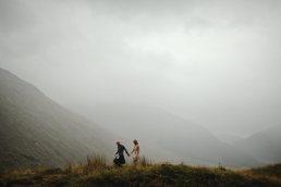 wedding photographer Scotland - wedding porterait in the scottish Highlands