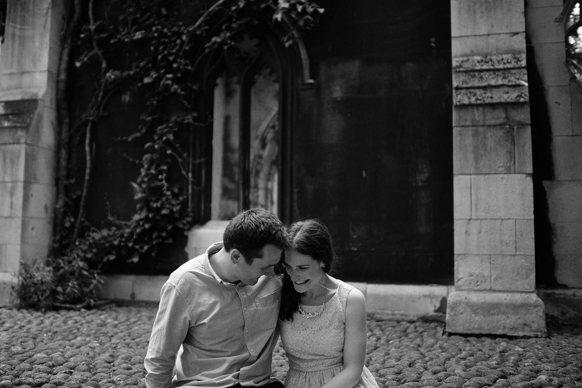 London Engagement Photography - St Dunstan in the East
