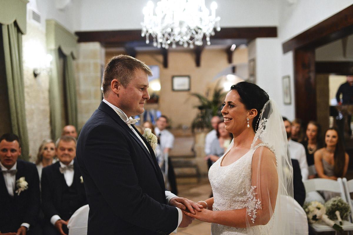 Olive Garden wedding ceremony