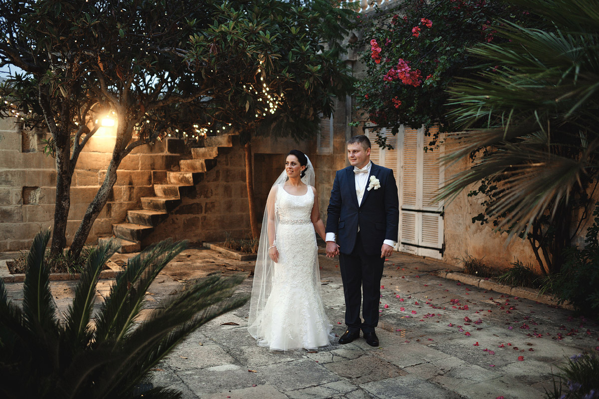 wedding photographer Malta - bride and groom