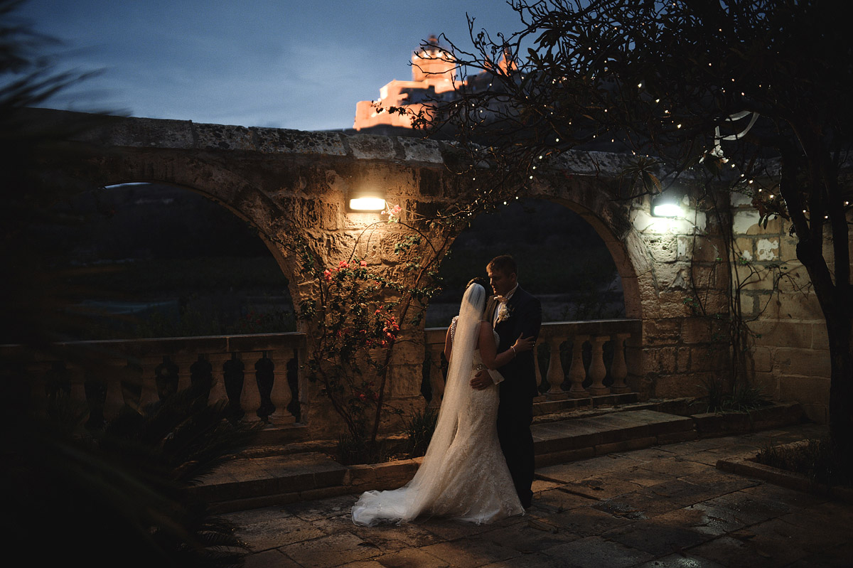 Olive Garden Mdina wedding portraits