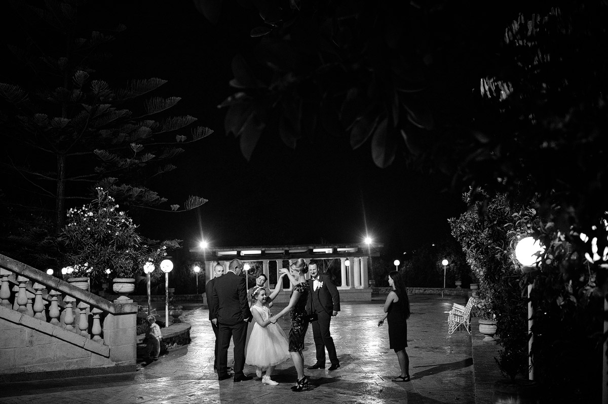Olive Garden Mdina wedding party