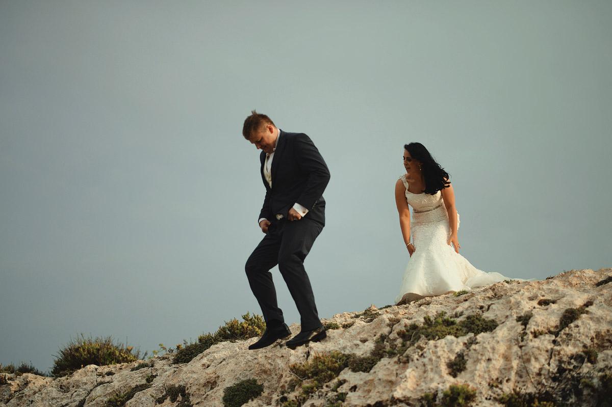 Wedding couple portrait Mtahleb