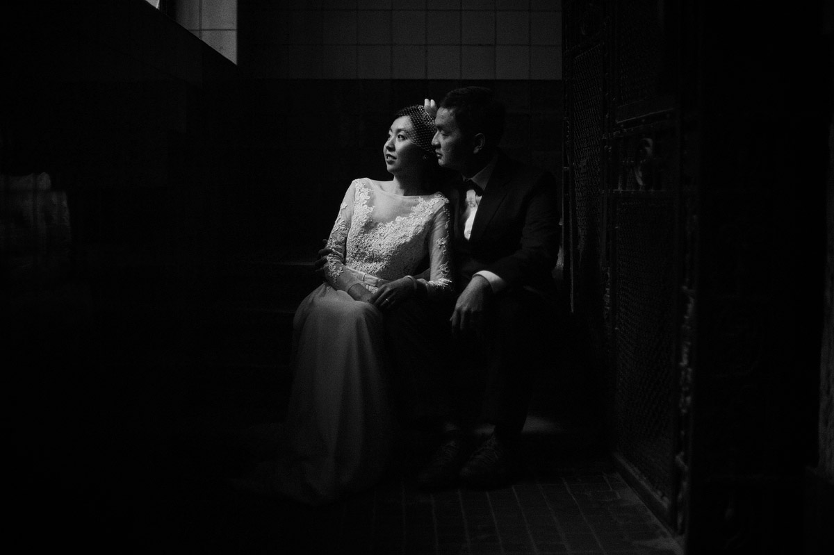 moody pre-wedding photos Budapest