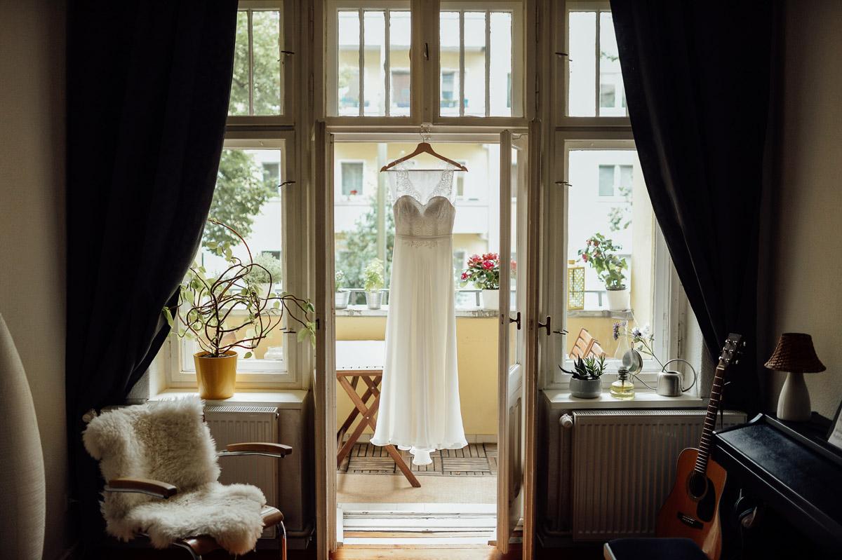 Bride wedding dress in Berlin