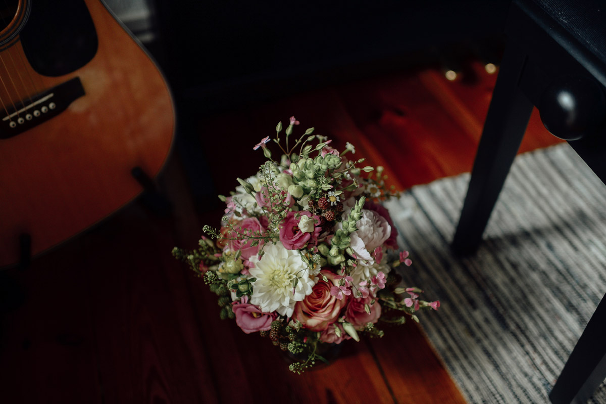 Wedding bouquet in Berlin