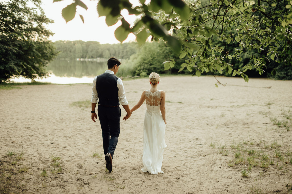 wedding couple at Landleben