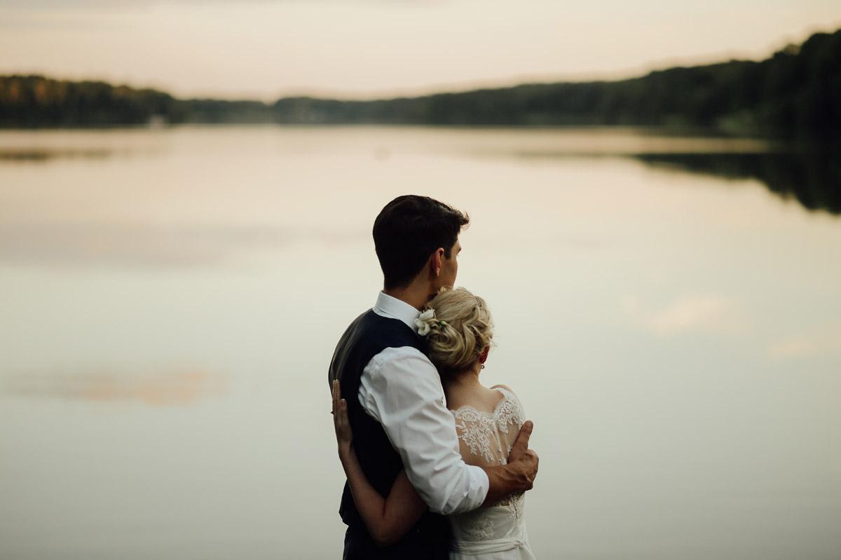 wedding couple at Landleben near Potsdam