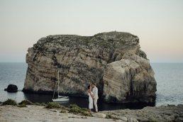 wedding couple portrait in Gozo
