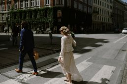 elopement wedding couple in Copenhagen