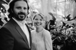 Wedding portraits in Botanical Garden Copenhagen