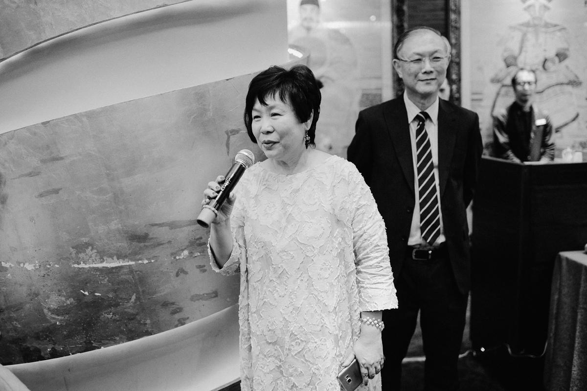 Mum of the bride speech in Singapore wedding