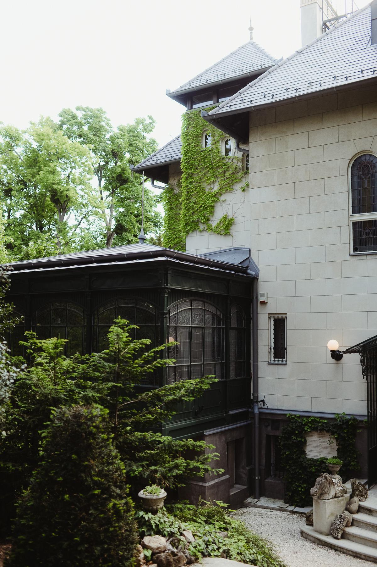 Nineteenth century Writer's Villa Budapest