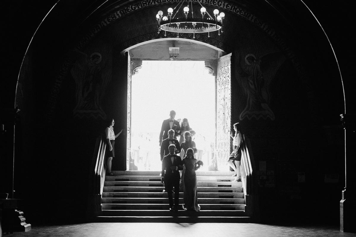 Wedding in St Matthias church Budapest