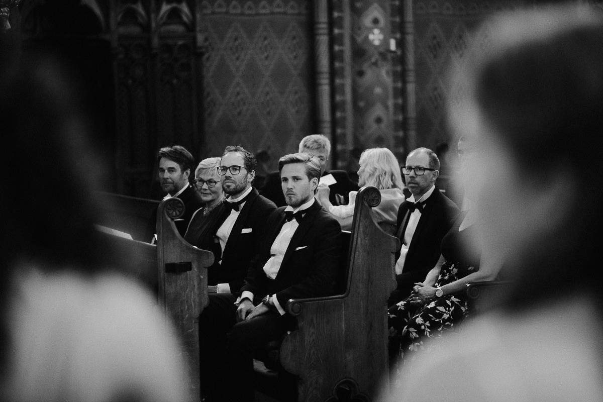 Wedding ceremony in St Matthias Church Budapest