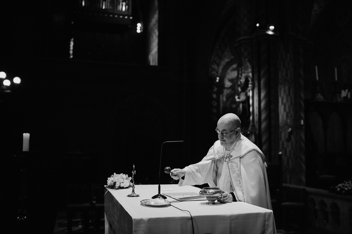 Matthias church wedding ceremony