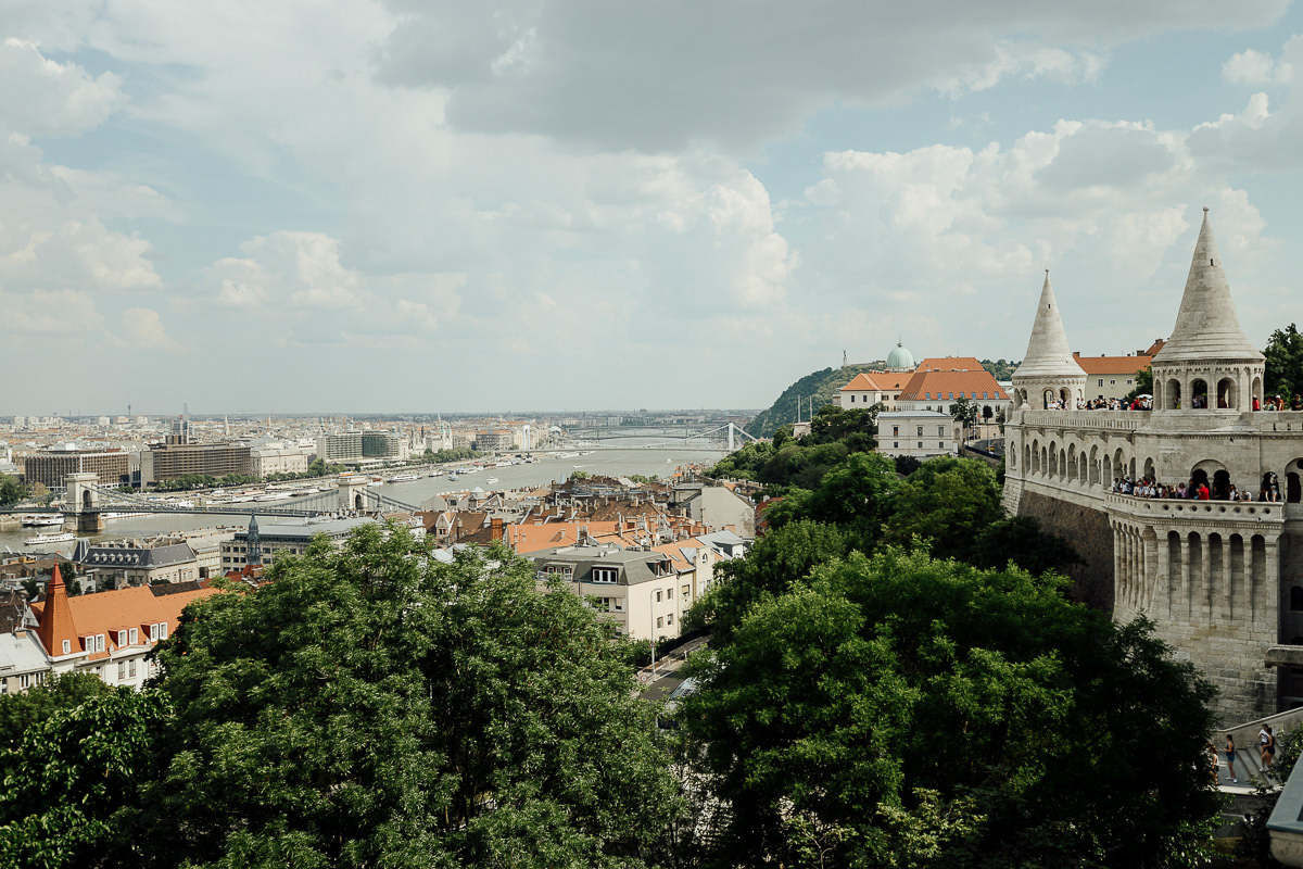 Budapest View from Fisherman's Bastion