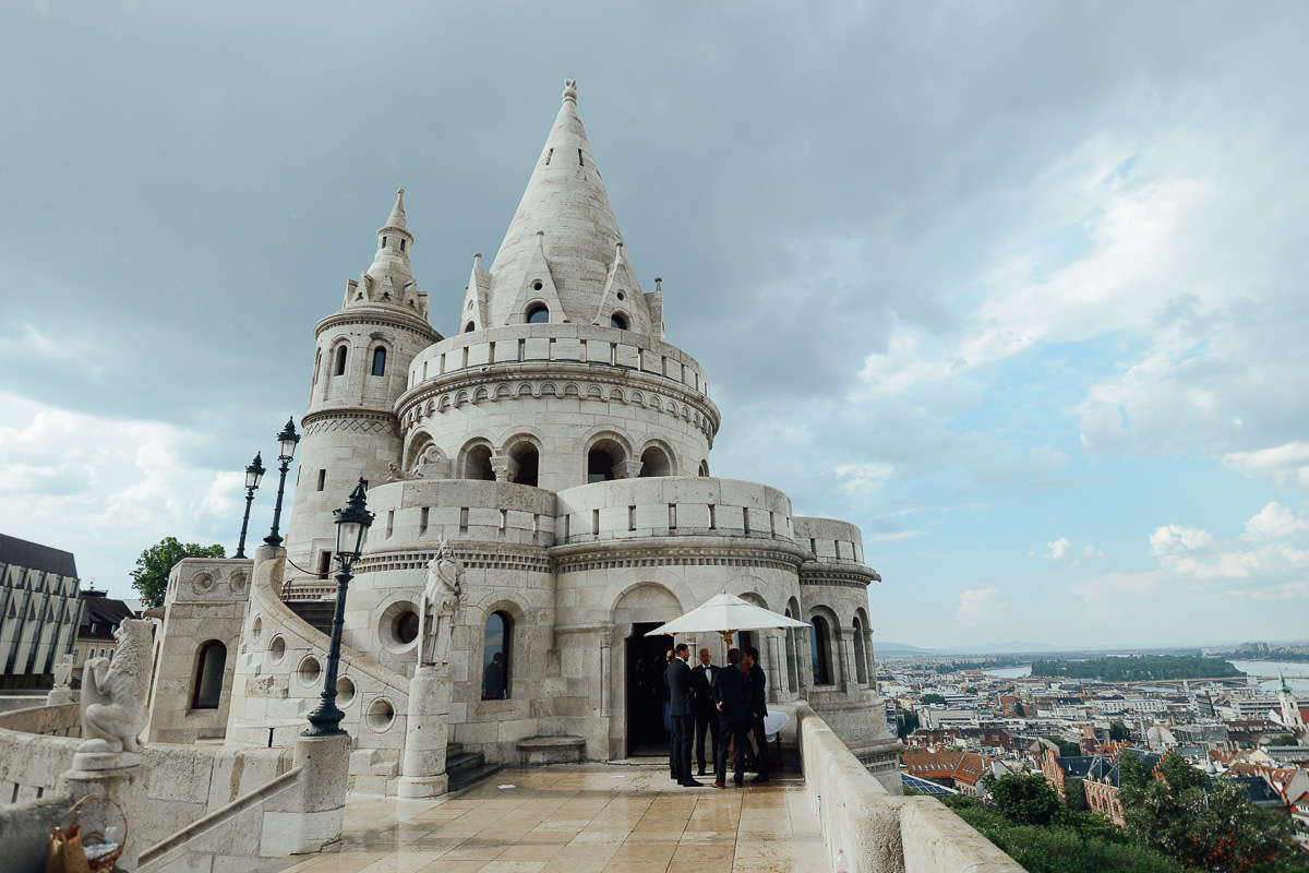 Fisherman's Bastion wedding