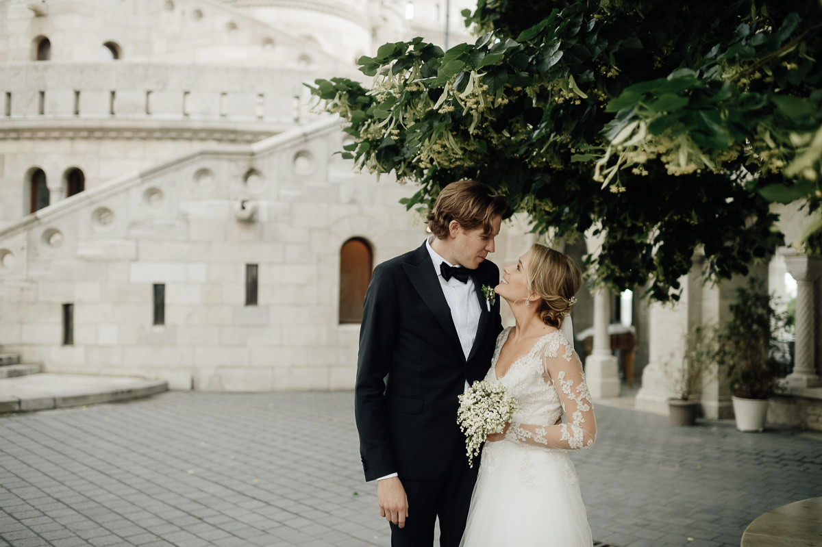 Wedding couple photos at St Matthias Church