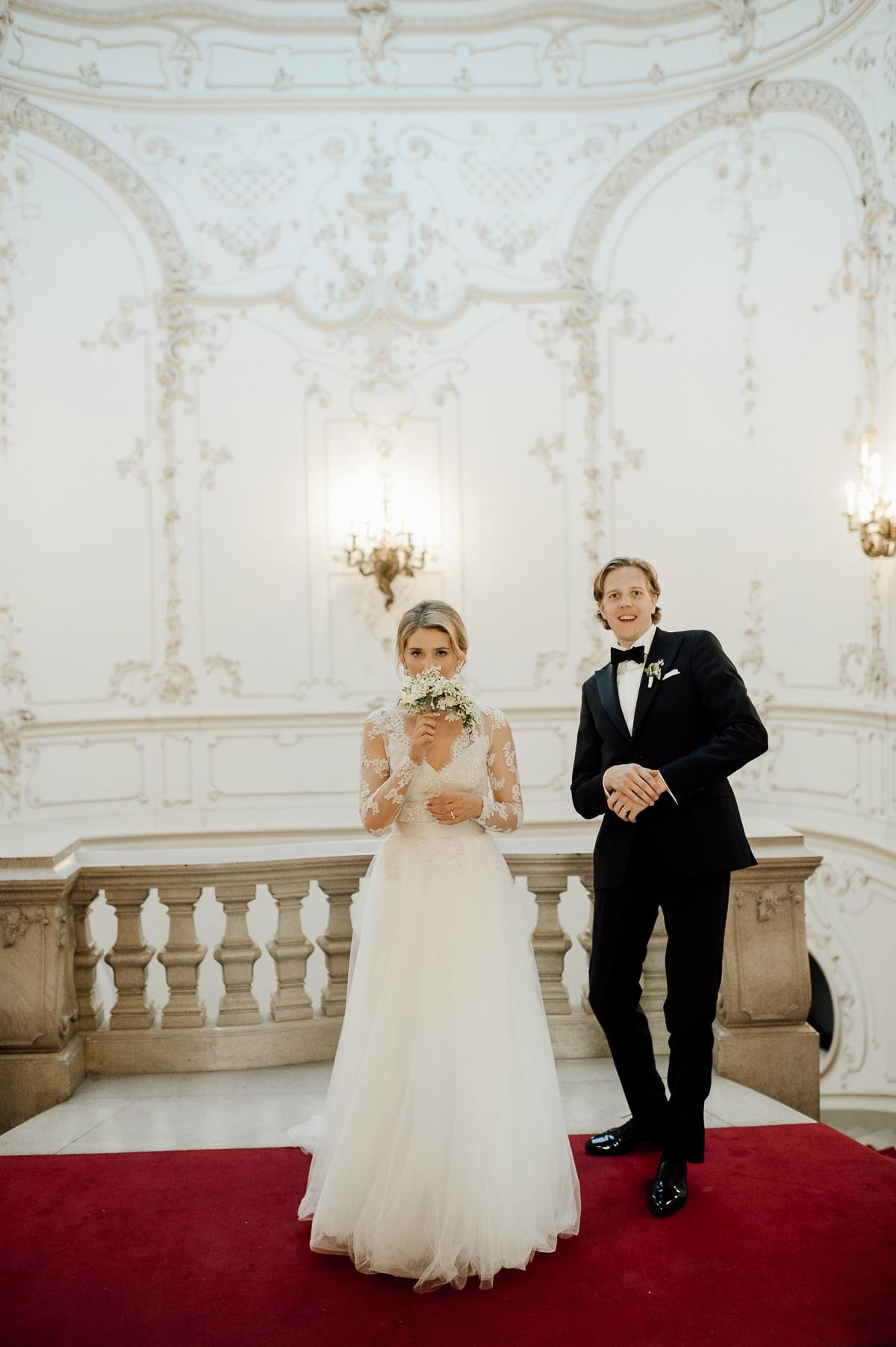 Metropolitan Ervin Szabo Library wedding photo