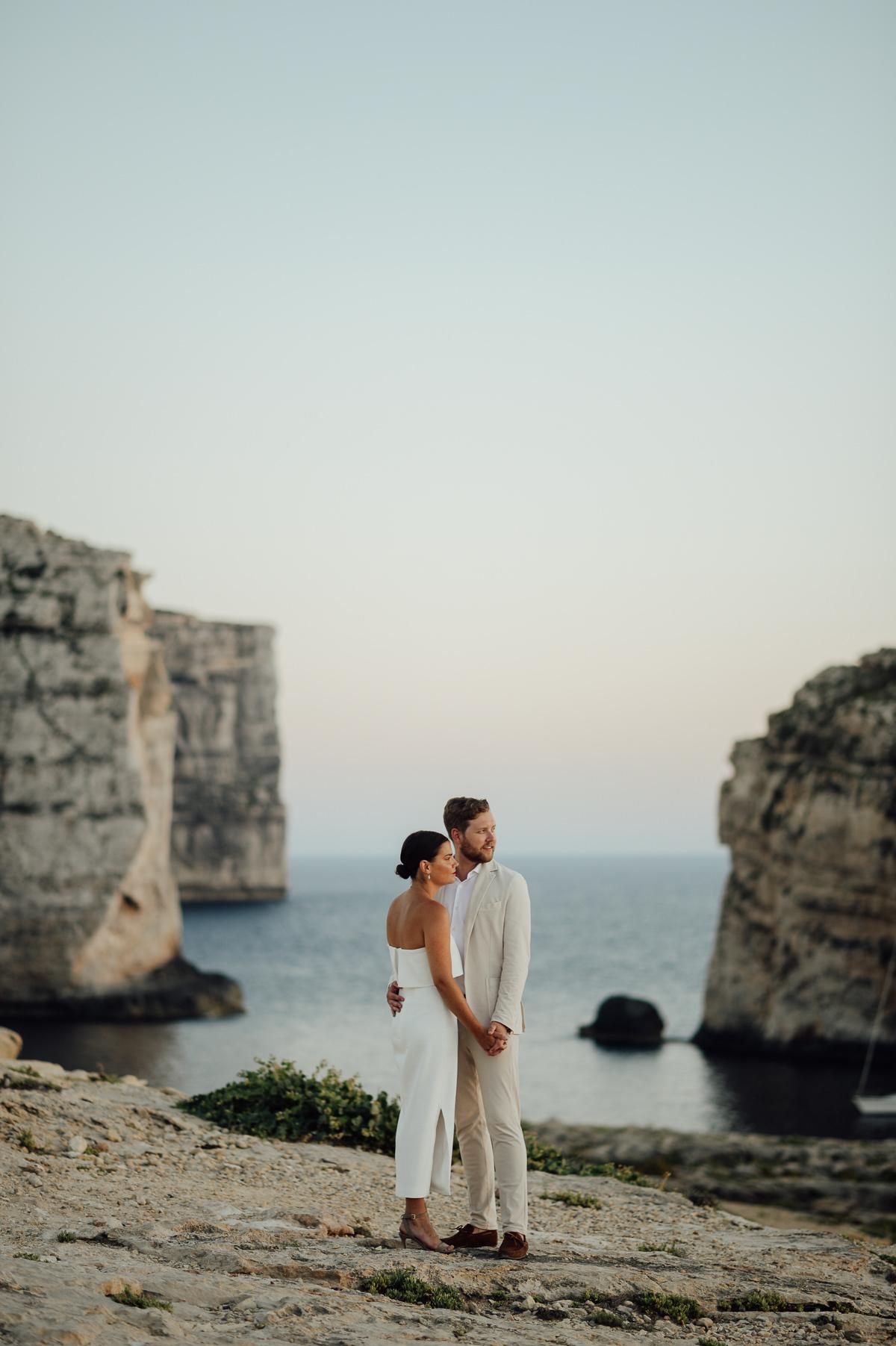 wedding photographer portraits in Gozo