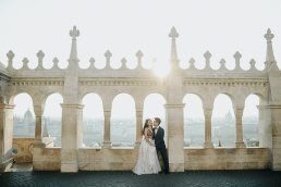 budapest pre wedding photo in the early morning