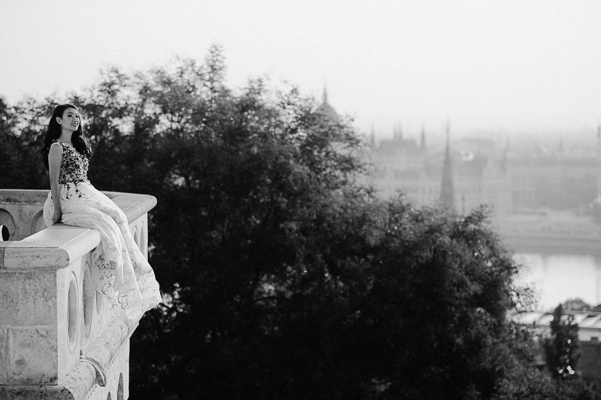 pre wedding bridal session Budapest
