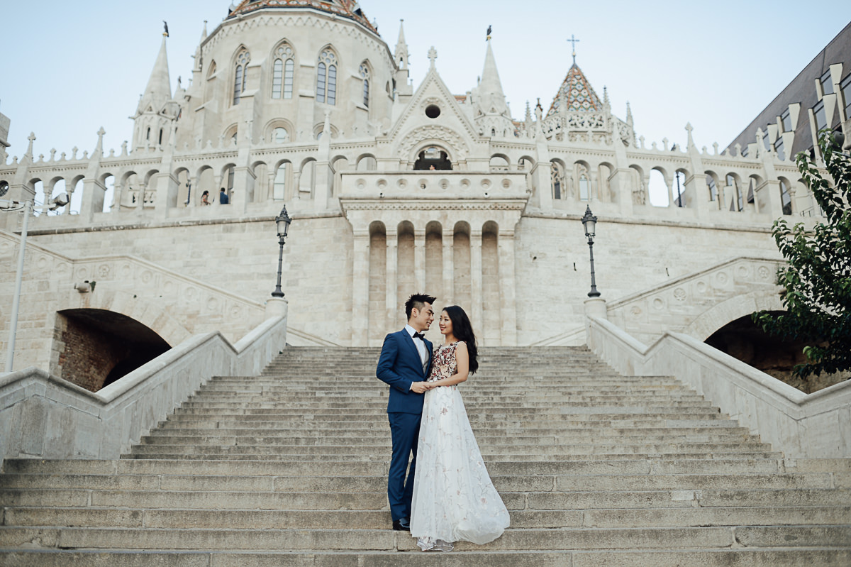 Pre wedding photography in Budapest