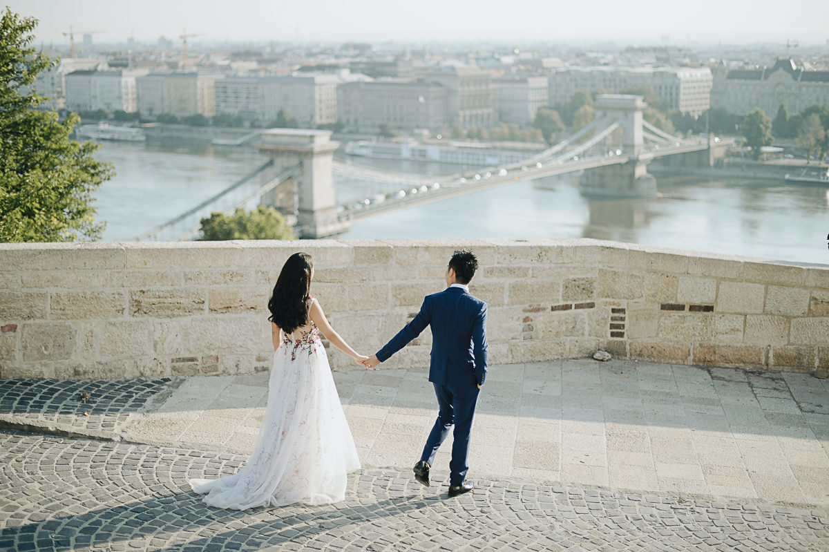 Budapest pre wedding photography