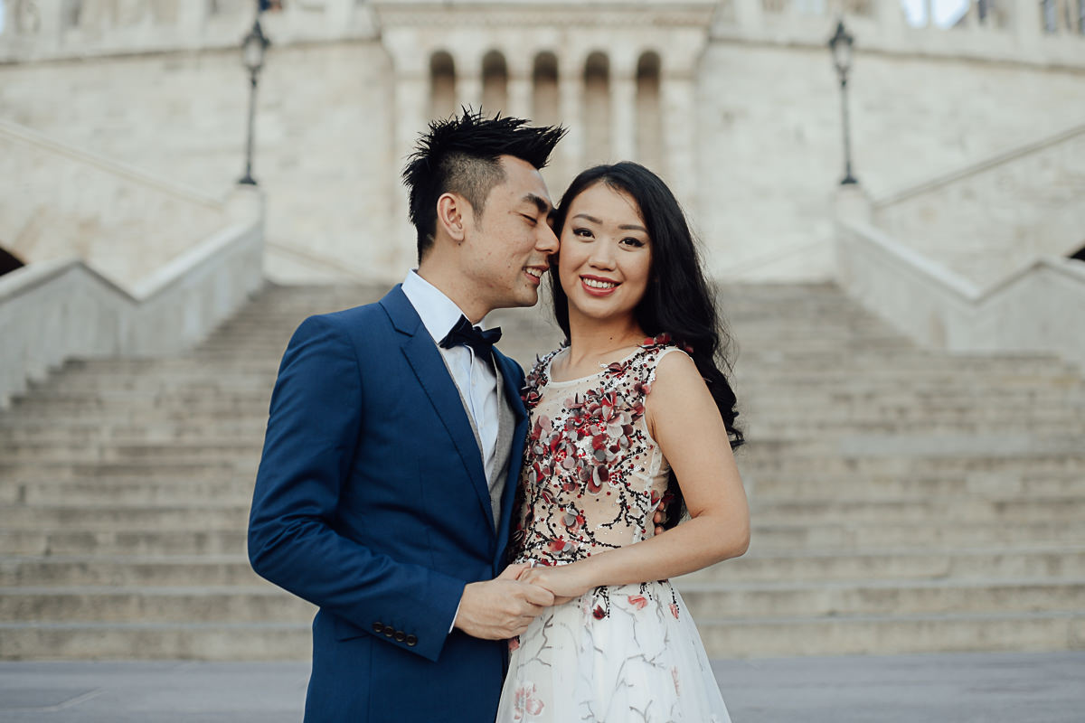Pre wedding photos in Budapest