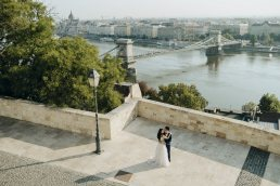 Pre wedding photo session in Budapest