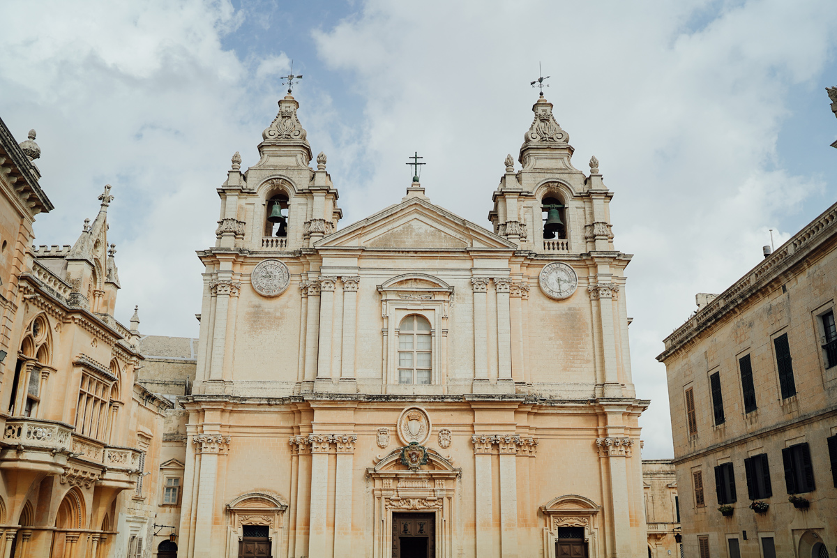 Mdina cathedral Wedding