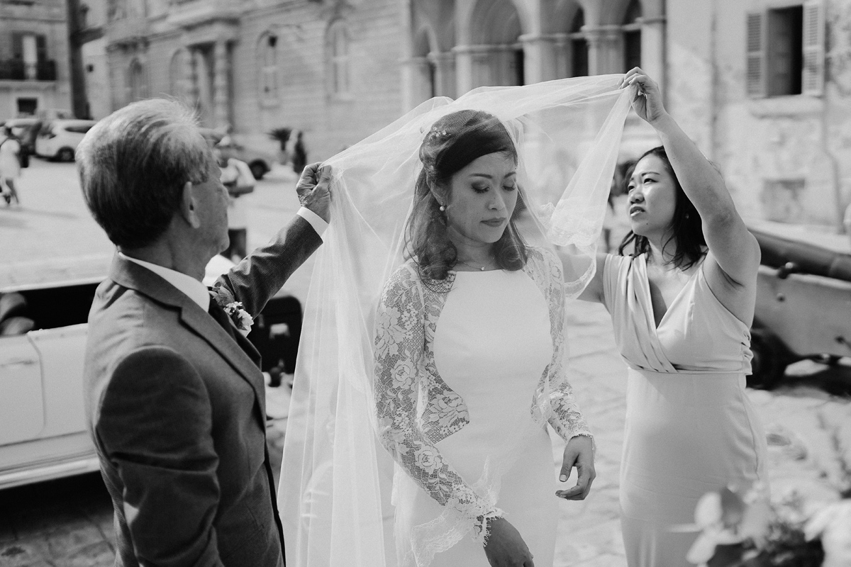 Mdina cathedral Wedding ceremony