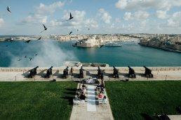 Saluting Battery Wedding Photography, Valletta | MALTA