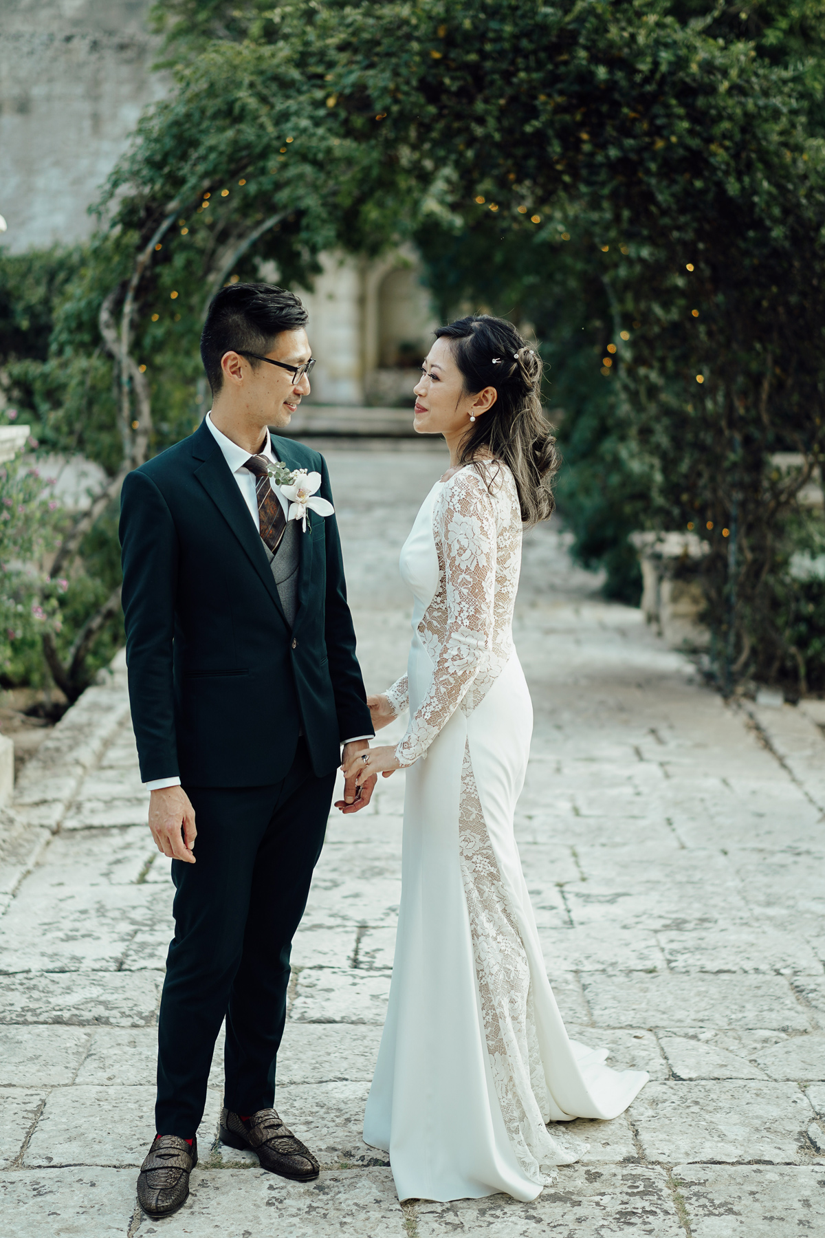 Wedding portrait in Malta